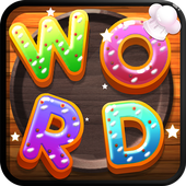 Word Donut  2018- Brain Puzzle Game icon
