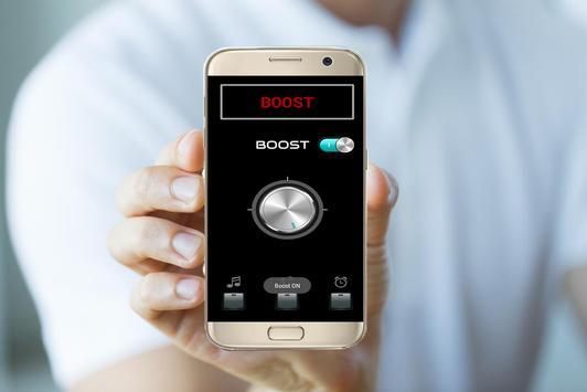 Booster sound - Bass Boost + Sound louder 2018 screenshot 1