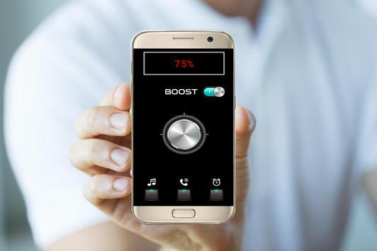 Booster sound - Bass Boost + Sound louder 2018 screenshot 3