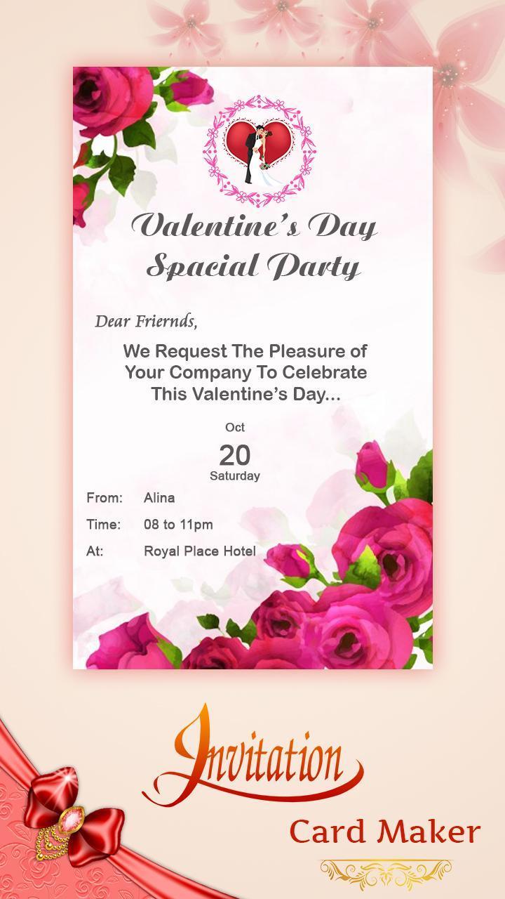 Digital Invitation Card Maker For Android Apk Download