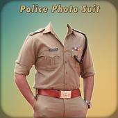 Men Police Suit Photo Editor - Police Dress icon