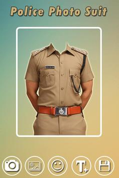 Men Police Suit Photo Editor - Police Dress poster