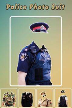 Men Police Suit Photo Editor - Police Dress screenshot 1