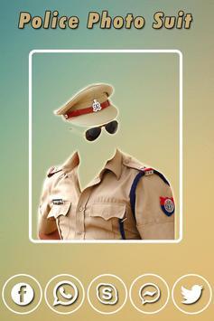 Men Police Suit Photo Editor - Police Dress screenshot 2