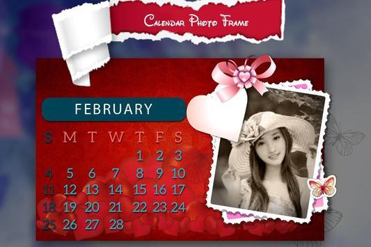 New Year Calendar Photo Frame 2018 screenshot 1