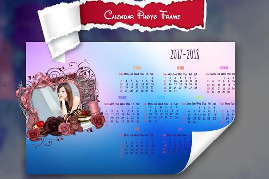 New Year Calendar Photo Frame 2018 screenshot 3