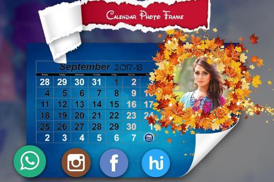 New Year Calendar Photo Frame 2018 screenshot 5
