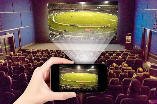HD Video Projector Simulator captura de pantalla 1