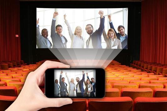 HD Video Projector Simulator captura de pantalla 3