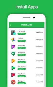 Update Software for Android screenshot 1