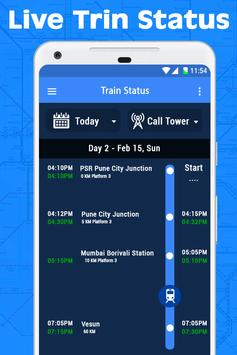 Live Train Running Status screenshot 1
