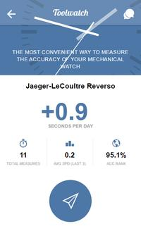 Toolwatch - Watch accuracy app poster