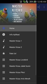 Master Kicau Juara MP3 Offline poster