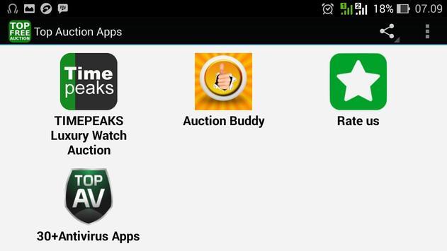Top Auction Apps apk screenshot