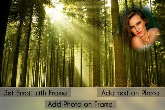Forest photo frame screenshot 5
