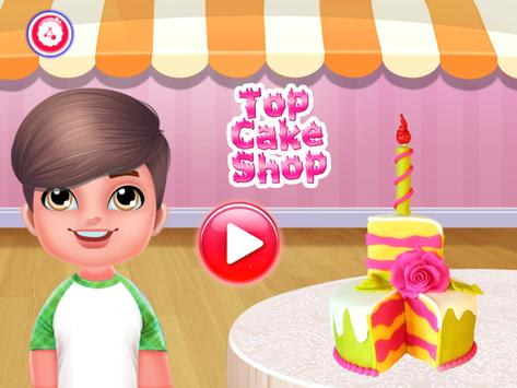 Top Cake Shop - Baking and Cupcake Store poster