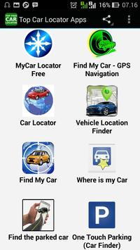 Top Car Locator Apps poster