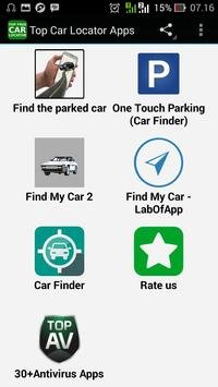 Top Car Locator Apps apk screenshot
