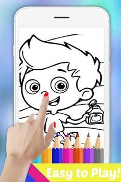 Easy Drawing Book for Bubble Mermaid Guppies Fans apk screenshot