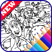 Easy Drawing Book for Cloudy Chance Meatballs Fans icon