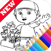 Easy Drawing Book for Handy Super Boy Manny Fans icon