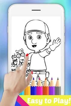 Easy Drawing Book for Handy Super Boy Manny Fans poster
