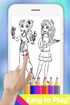 Easy Drawing Book for Lego Friends by Fans apk screenshot