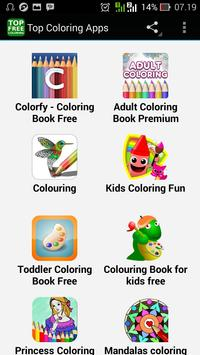 Top Coloring Apps poster