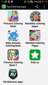 Top Coloring Apps apk screenshot