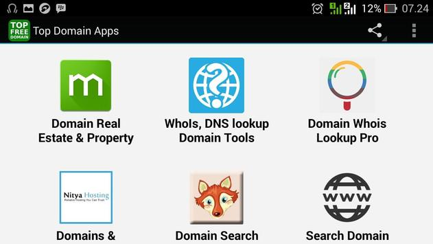 Top Domain Apps apk screenshot