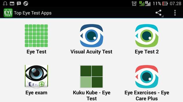 Top Eye Test Apps apk screenshot