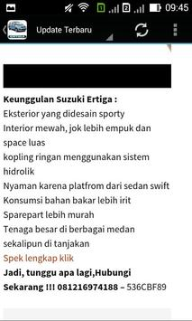 Suzuki Ertiga Surabaya screenshot 7
