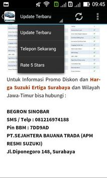 Suzuki Ertiga Surabaya screenshot 8
