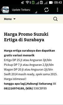 Suzuki Ertiga Surabaya poster