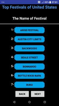 Top Festivals of United States screenshot 2