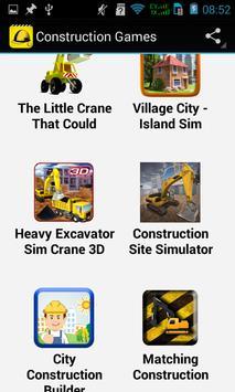 Top Construction Games apk screenshot