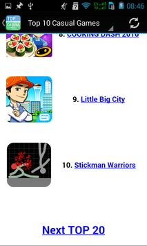 Top Casual Games apk screenshot