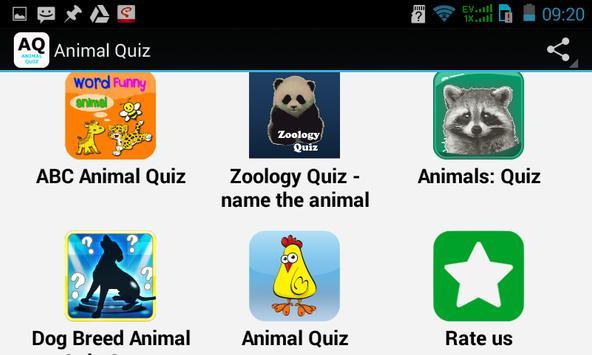 Top Animal Quiz screenshot 3