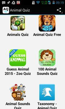 Top Animal Quiz poster