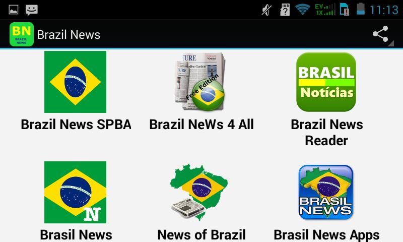 Top Brazil News Apps for Android - APK Download