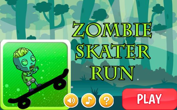 Free Games Zombie Skater Run poster