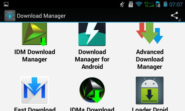 Top Download Manager apk screenshot