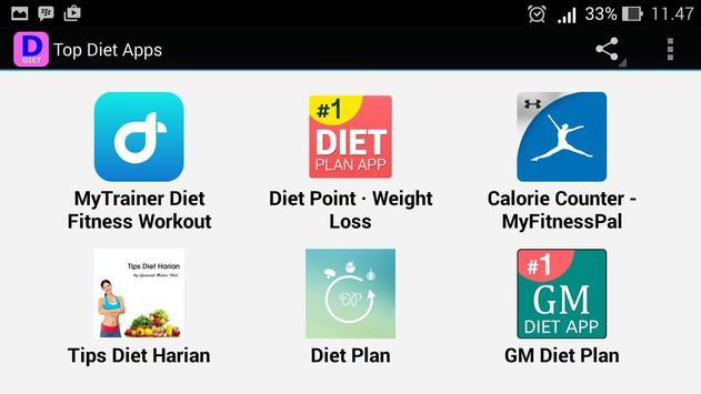 Top Diet Apps apk screenshot