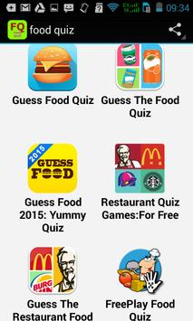 Top Food Quiz poster
