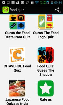 Top Food Quiz apk screenshot