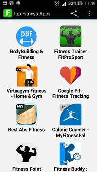 Top Fitness Apps poster