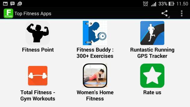 Top Fitness Apps apk screenshot