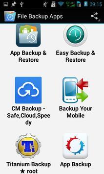Top File Backup poster