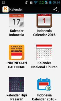 Top Kalender poster