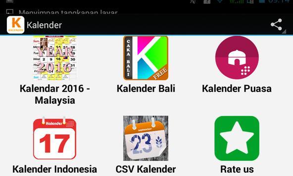 Top Kalender apk screenshot